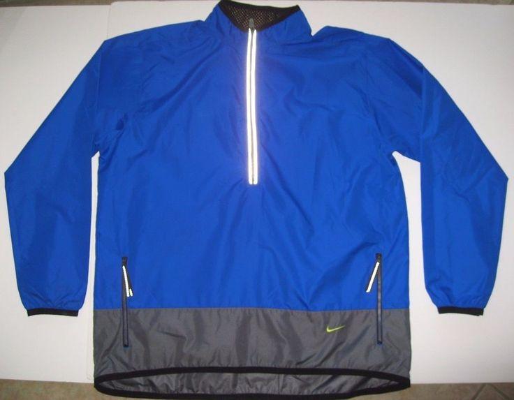 #Nike #Running #Jacket XL #Blue #Lightweight #Windbreaker Men Or Women's #Nike #Windbreaker