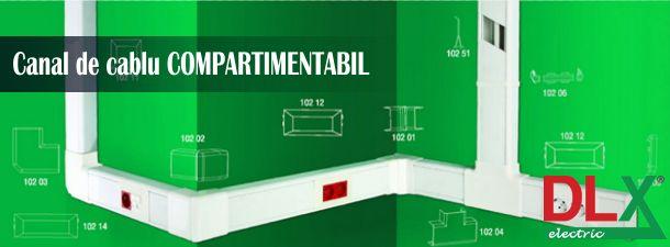 Canal cablu :: Canal de cablu cu accesorii