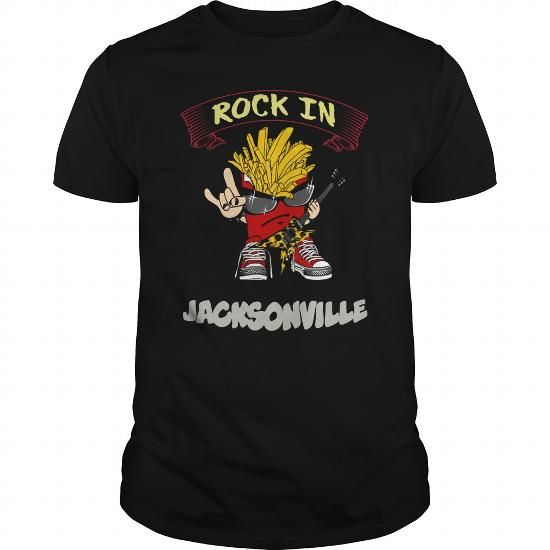 Awesome Tee Rock In Jacksonville T shirts