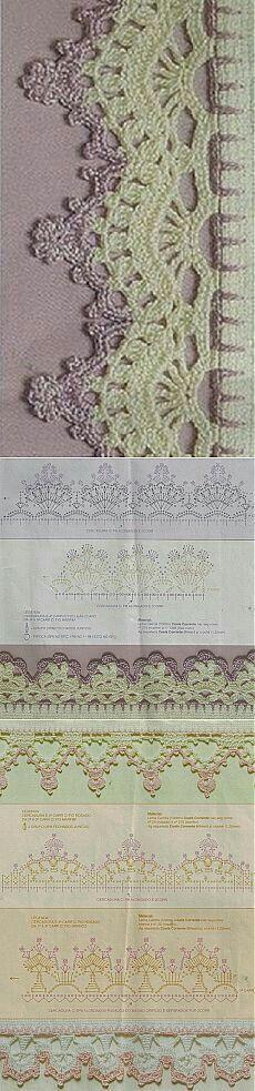 Pontas  crochet