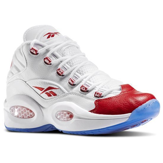 Reebok Question Mid Grade School - A retro-inspired basketball shoes  perfect for high energy play