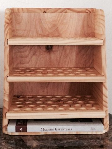 Essential Oils Display Rack by Oils4Life on Etsy, $99.00