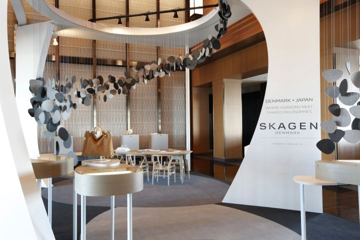 Skagen pop-up shop at Mandarin Hotel by UXUS, Tokyo – Japan » Retail Design Blog