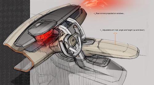 2014 | Land Rover Discovery Vision Concept | Interior Design...