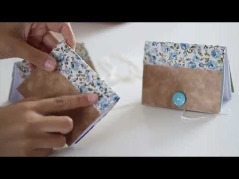 ArtTeen - Como fazer caderninhos com caixa de cereal - YouTube