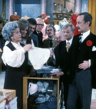 Are You Being Served? Brings back memories if watching the British comedies with my grandma :)
