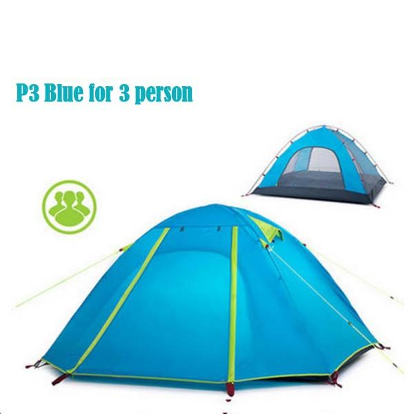$86.9 for Naturehike 3 Person Tent Best Lightweight 3 – 4 Person Tent Backpacking UV Resistant