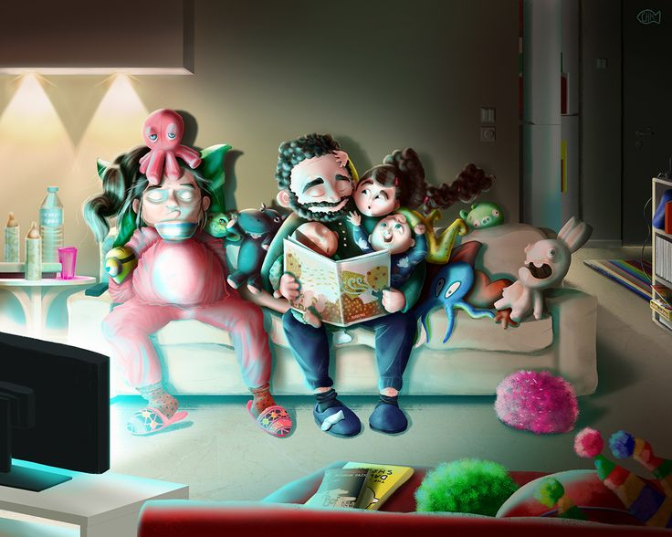 Digital Drawing: An imaginary future night on Behance