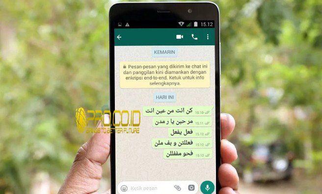 Cara Membuat Tulisan Arab Di Whatsapp Tanpa Aplikasi Sangat Mudah Http Www Pro Co Id Cara Membuat Tulisan Arab Di Whatsapp Ta Tulisan Aplikasi Pendidikan