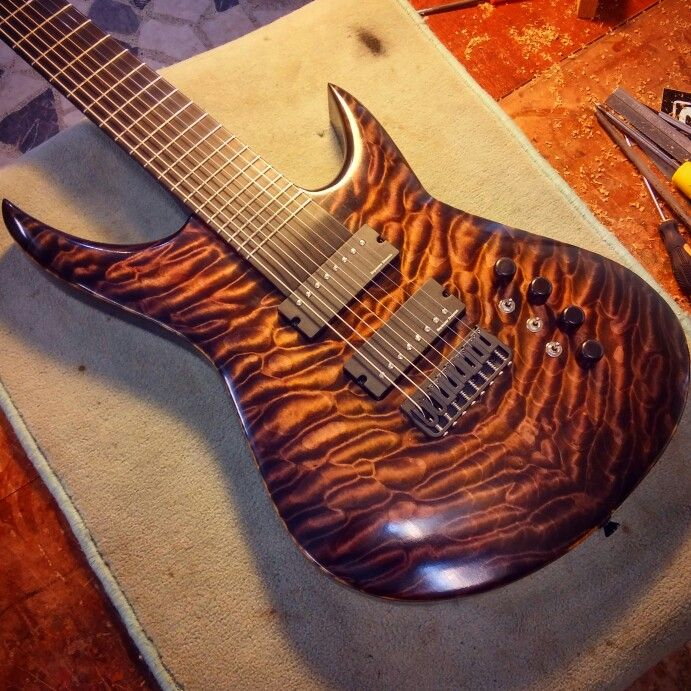 8 String Guitar - Custom Guitar