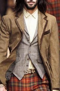История костюма жилет