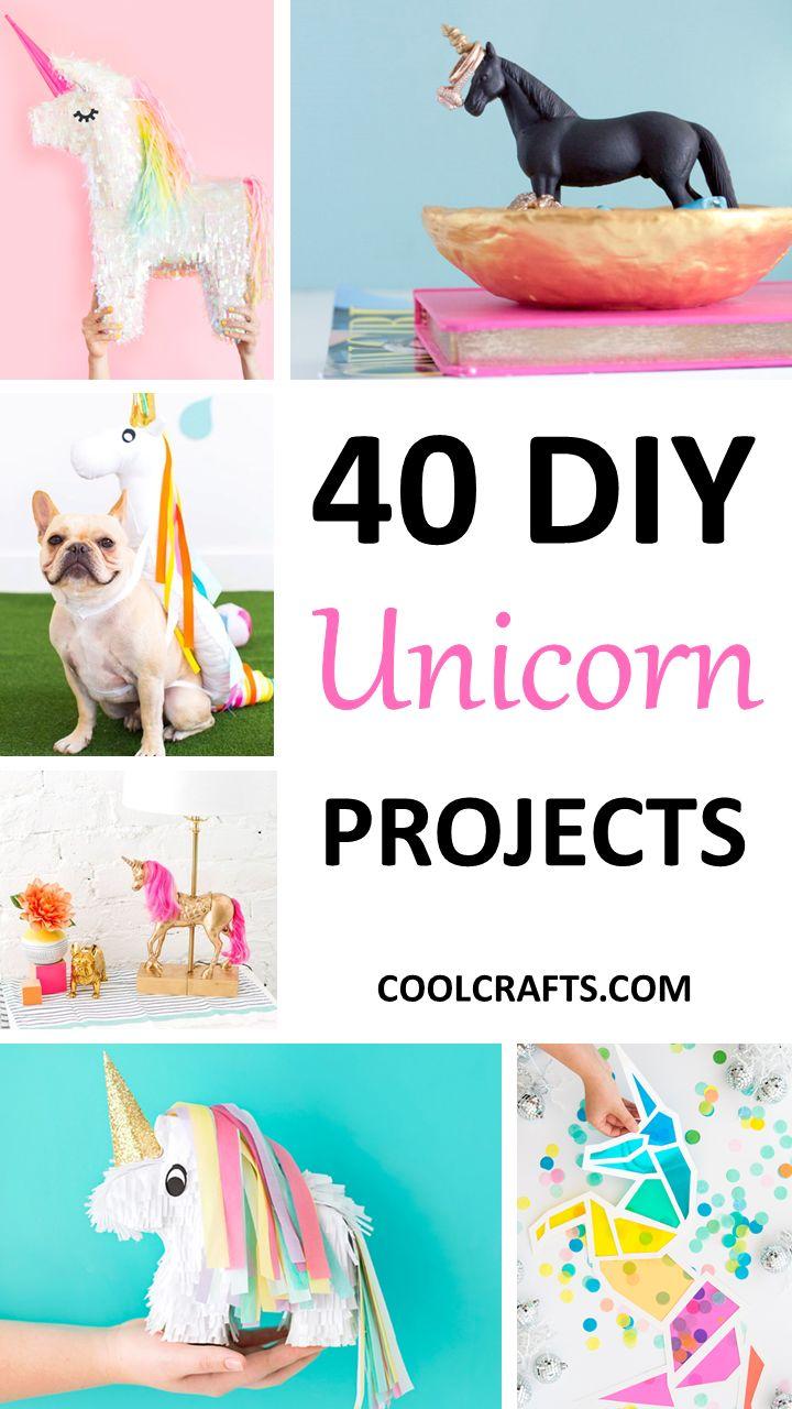 40 Majestic DIY Unicorn Craft Ideas | Coolcrafts.com