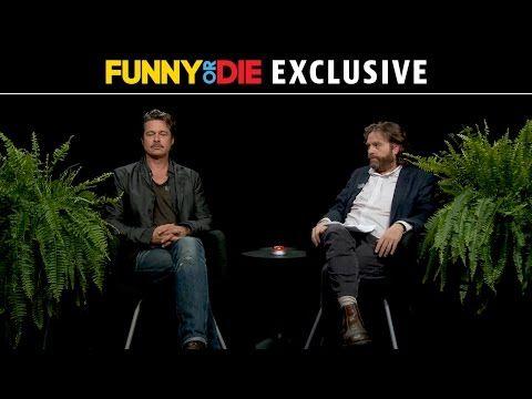 ▶ Between Two Ferns with Zach Galifianakis: Brad Pitt - YouTube