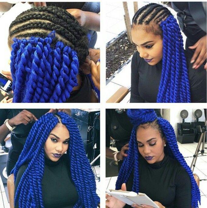 Cuban Twist Crochet Hair Styles : Kinky Twist havana mombo Marley twist braiding Factory Direct good ...