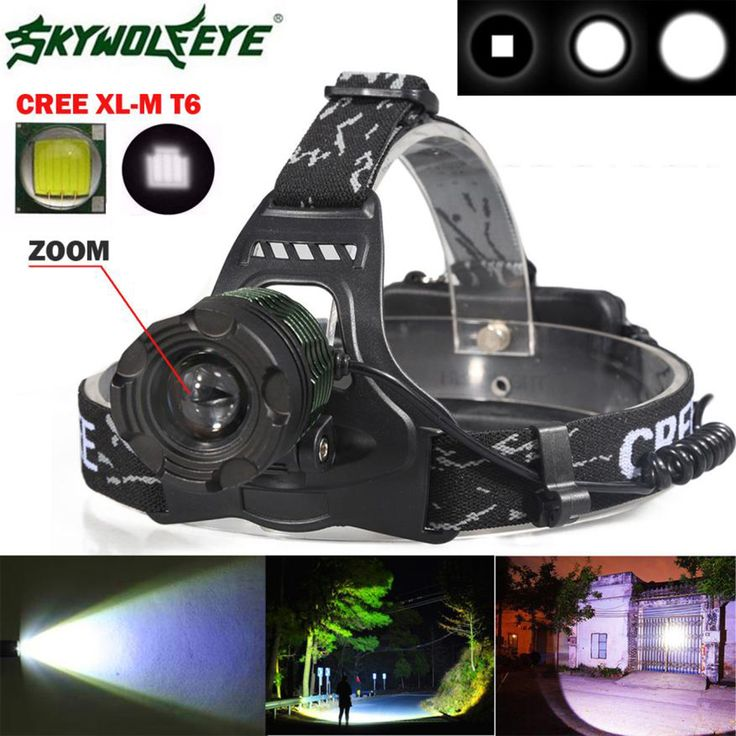 5000 Lm Cree Xm L Xml T6 Led Headlamp Headlight Flashlight Head Light Lamp 18650 Waterproof Black High Quality Drop Shipping Buy Now Discount 8 02 Pric