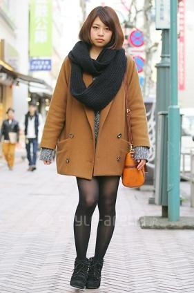 Shibuya street fashion.