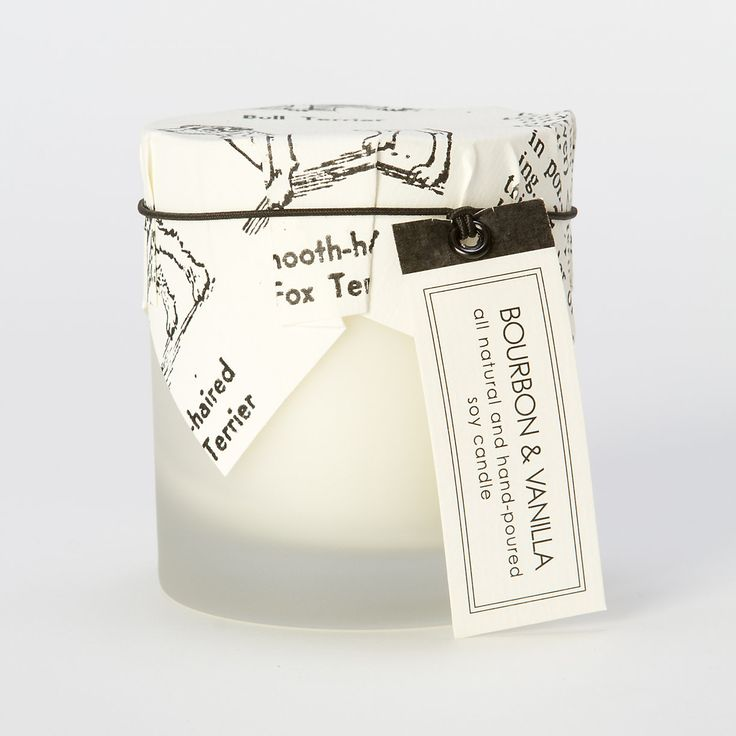 Bourbon & Vanilla Candle in House+Home HOME+DÉCOR Candles at Terrain. Good idea for my Bourbon loving man.
