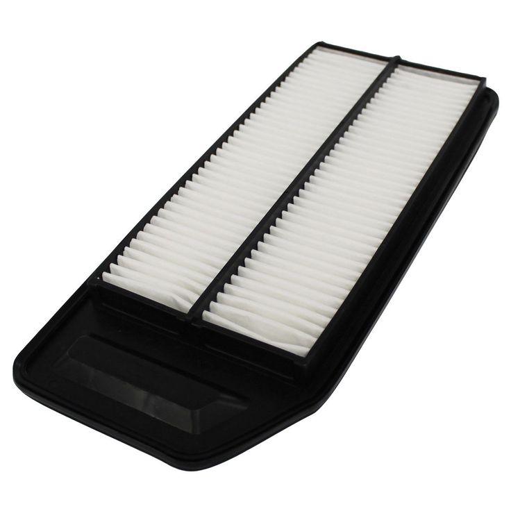 Crucial Acura- and Honda-compatible Rigid Panel Air Filter (car filter), Black