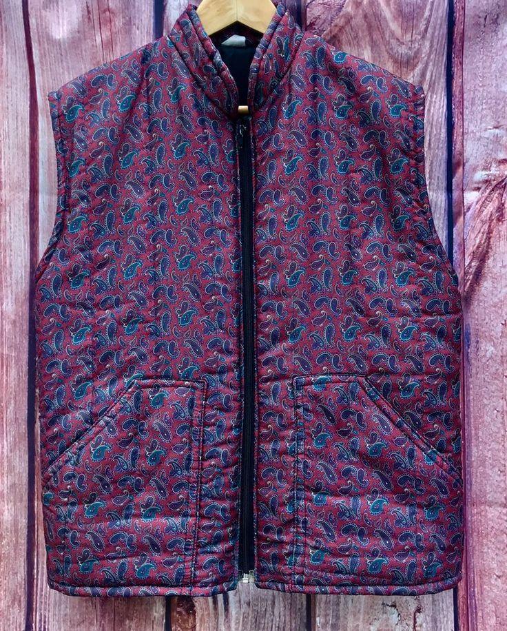 Womans Horse Riding quilted Jacket Paisley Coat Walking zip up front lavenir  M