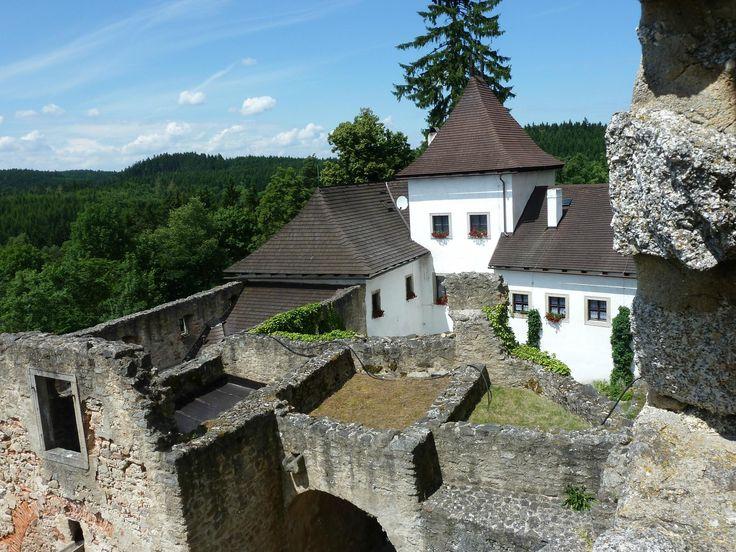 Statni Hrad Landstejn (castle) - Slavonice, Czech Republic