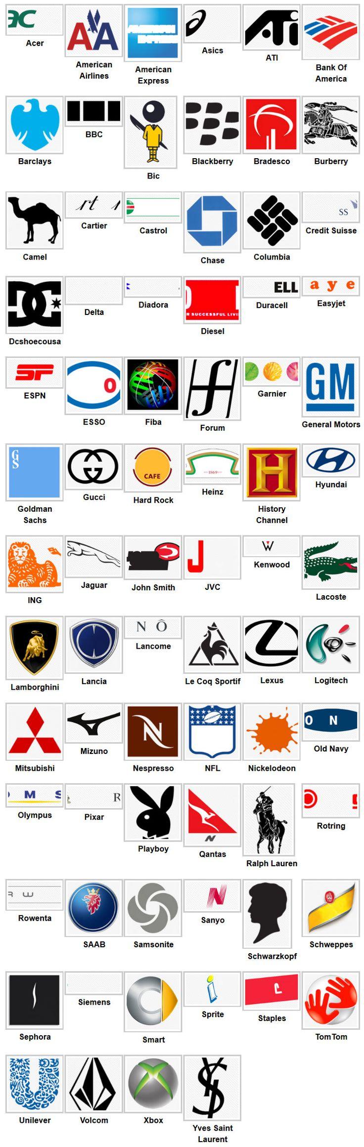 Logo quiz5 Logos Pinterest Logos