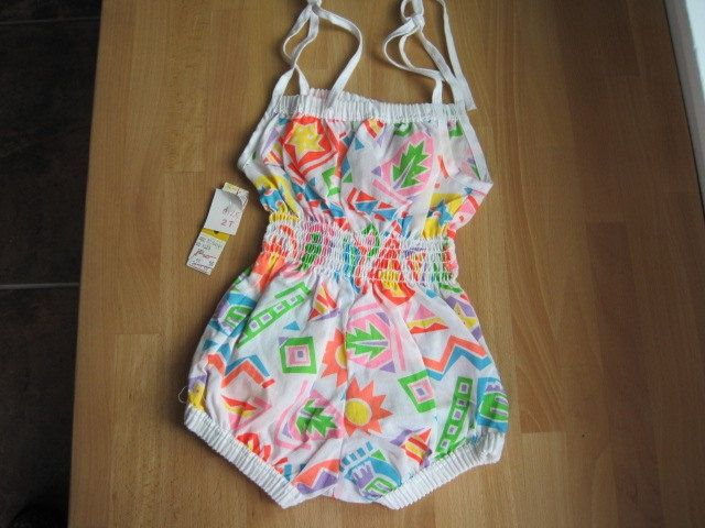 Retro Baby Sunsuits | 1980s Sunsuit Romper | Back In The Day