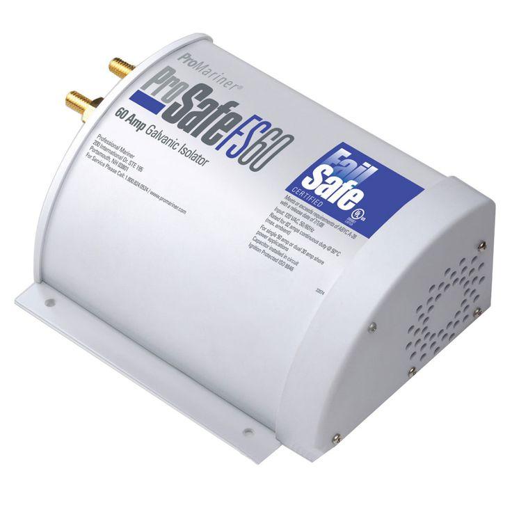ProMariner ProSafe FAILSAFE 60amp Galvanic Isolator - https://www.boatpartsforless.com/shop/promariner-prosafe-failsafe-60amp-galvanic-isolator/