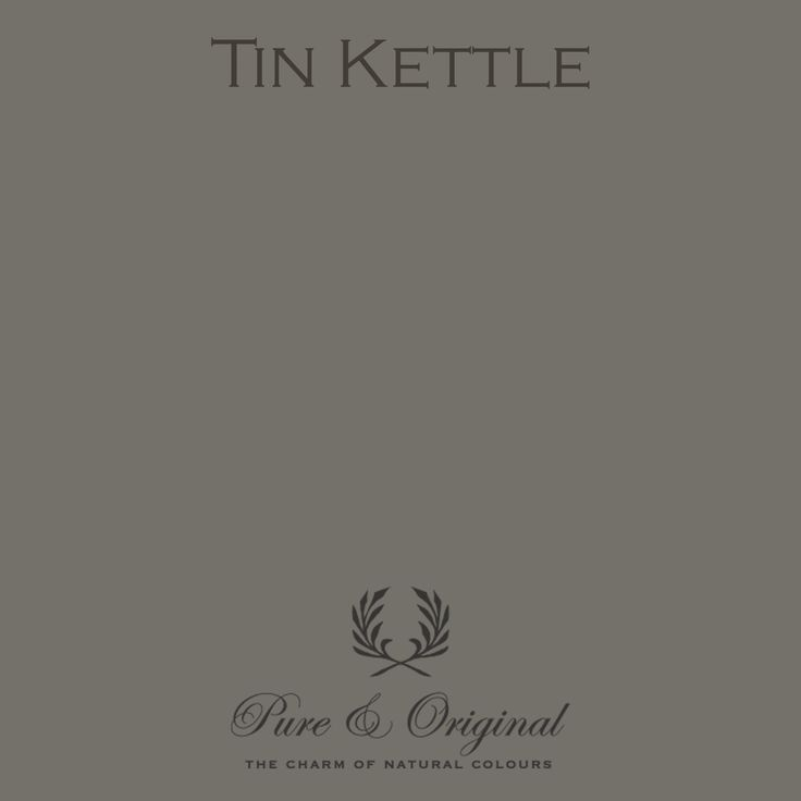 Tin Kettle - Pure & Original - paint