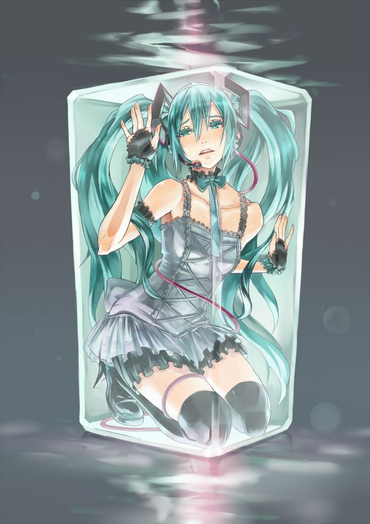 Why are you in a box Miku? D: | •Volcaloid• | Pinterest ...
