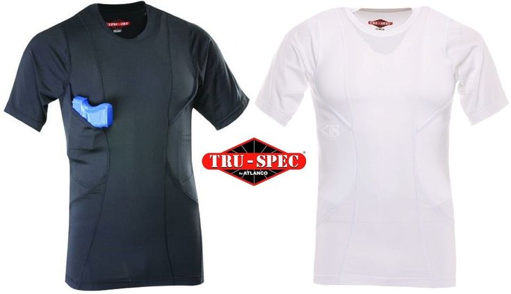 Tru-Spec Concealed Carry Holster Shirt - Men's 24-7 Series Tactical Undershirt Find our speedloader now! http://www.amazon.com/shops/raeind
