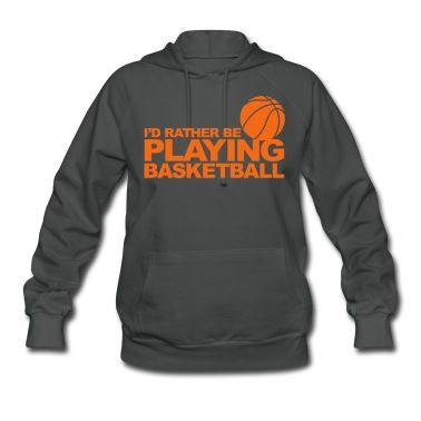 This I'd rather be playing basketball Hoodie is printed on a Hoodie and designed by PhilZ. Available in many sizes and colours. Buy your own Hoodie with a I'd rather be playing basketball design at Spreadshirt, your custom t-shirt printing platform!