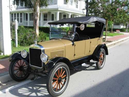 1926 Ford Model T Tourenwagen – AntiqueCar.com