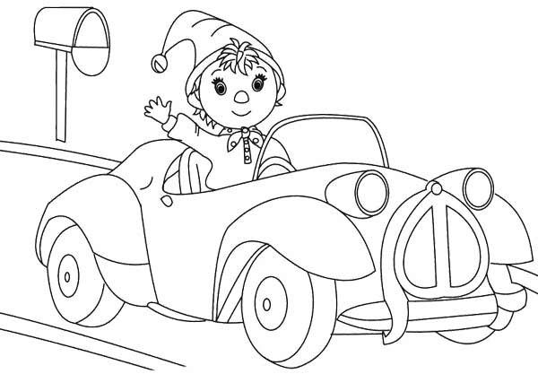 28 best Noddy images on Pinterest Coloring books