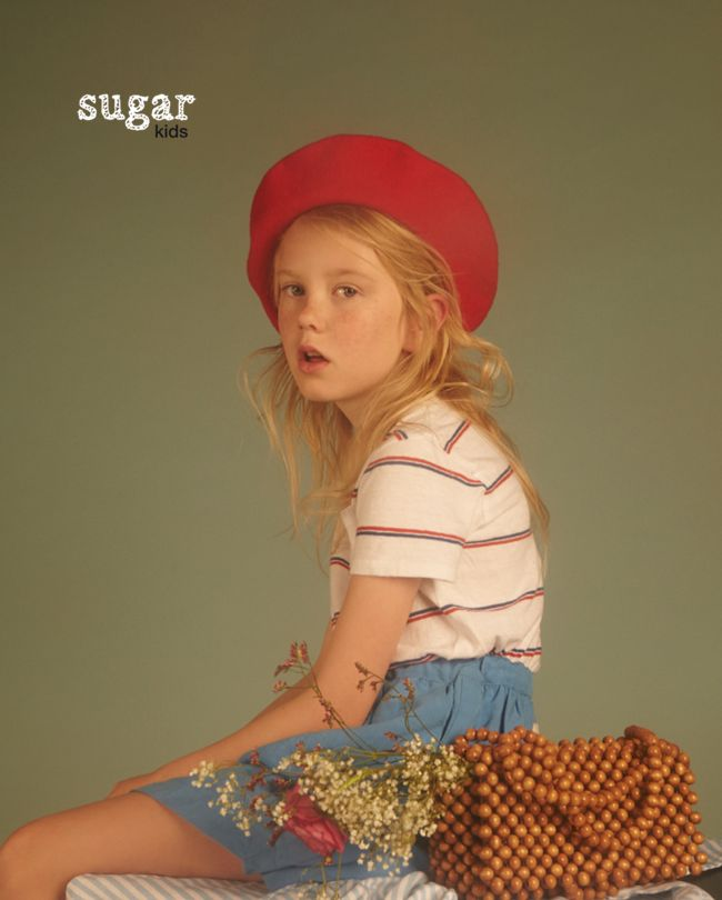 Chloe from Sugar Kids for Milk Magazine by Carmen Ordoñez