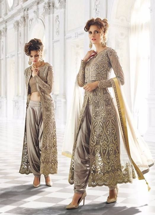 Add style to your appearance with this #elegant #Indian #dress. Buy now from India's best online shopping portal - www.daindiashop.com/women and get 5% Off (by using coupon code special05) + free shipping (India only) if you have any problem talk to our customer representative on Live Chat today!!!!