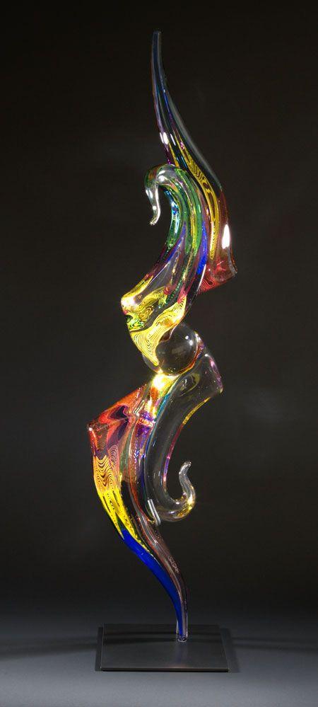 "Richard Royal ""Osmosis"" hot sculpted glass"