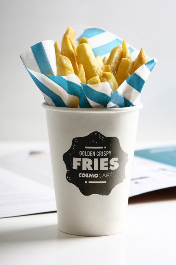 Fries in a cup