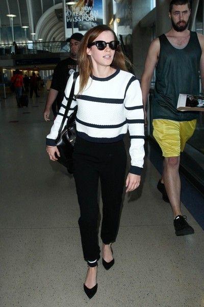 Emma Watson Photos: Emma Watson Seen at LAX