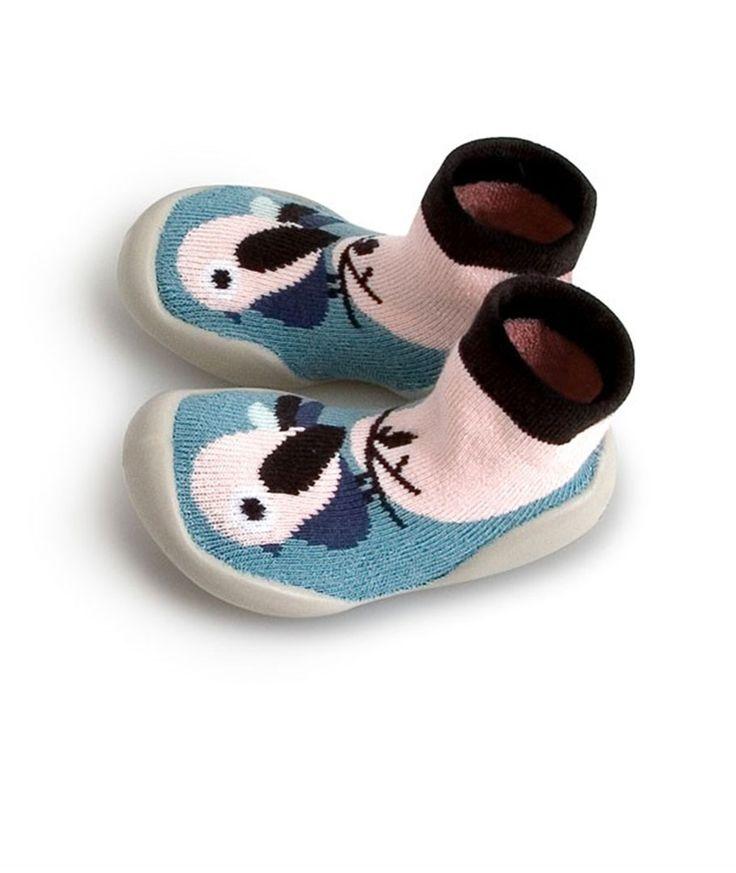 Collegien Slipper Socks Birdie blue