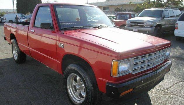 No Reserve Survivor: 1986 Chevy S10 Pickup #USA #American, #Chevrolet, #Survivors, #Trucks - https://barnfinds.com/no-reserve-survivor-1986-chevy-s10-pickup/