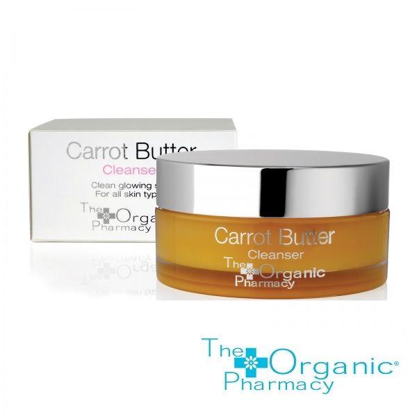 The Organic Pharmacy Carrot Butter Cleanser 75 ml. Bestseller renseprodukt der efterlader huden blød og afslappet med flot glød. Green Harmony