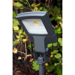 Lutec Lampen LED Flutlichtstrahler Anthrazit, 1-flammig