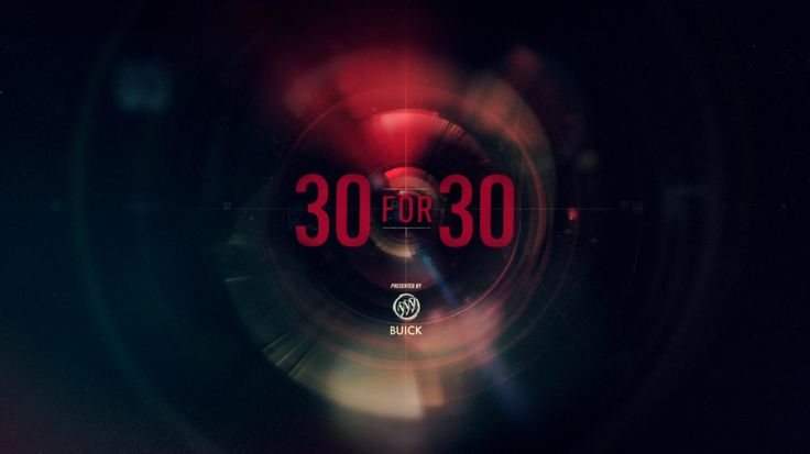 ESPN 30 for 30: Main Title Sequence. ESPN's 30 for 30 was produced by Ryan Robertson @ Prologue Films.  Creative Direction by Danny Yount. A...
