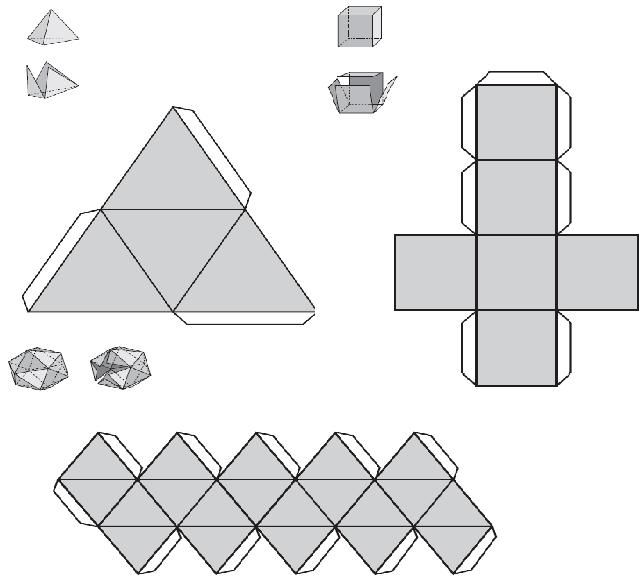 Como hacer figuras geometricas con papel - Imagui