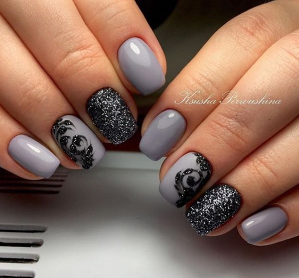 In our accumulating below, you could be able to acquisition altered symbols  and designs which. Chic Nail ... - Best 25+ Chic Nails Ideas On Pinterest Black Wedding Nails