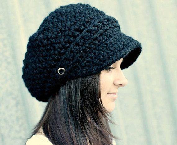 1000+ ideas about Crochet Newsboy Hat on Pinterest ...