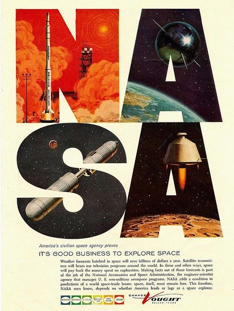 NASA, it's good business to explore space!