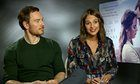 'It really got to me': Michael Fassbender and Alicia Vikander on The Light Between Oceans – video interview