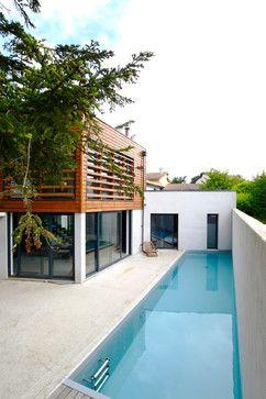 maison contemporaine lyon 5ème contemporary pool