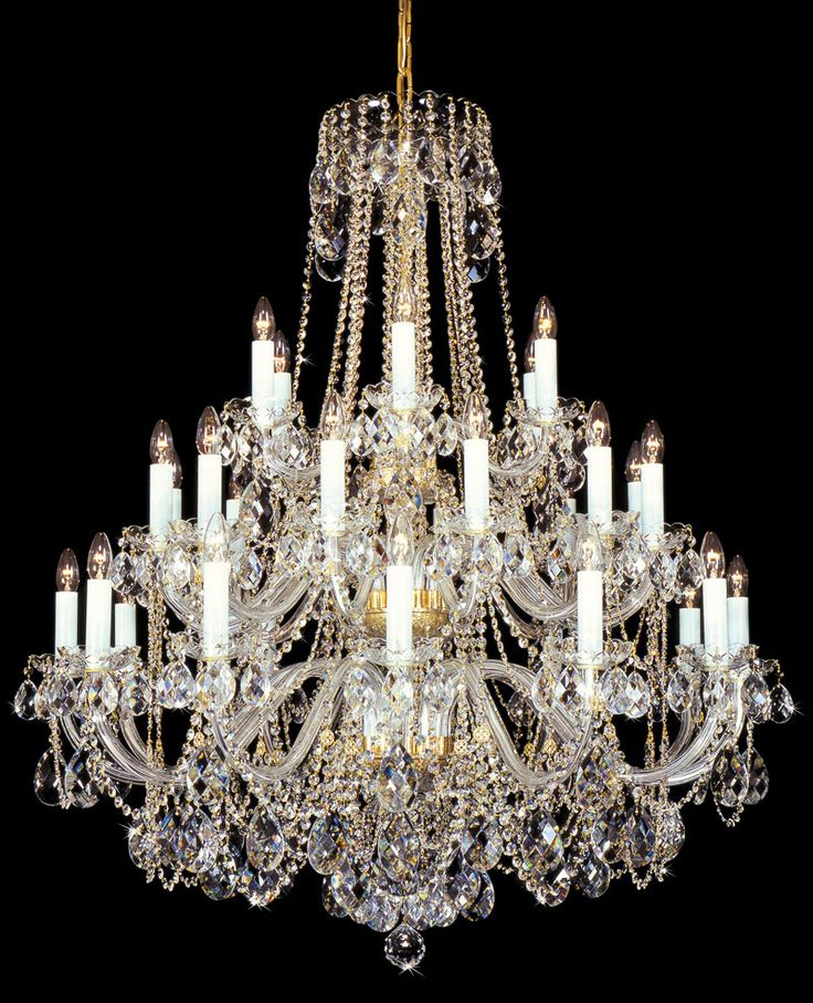 Magnificent Chandelier Online Shopping shop for new authentic all crystal chandelier lighting with crystal icicles black shades get free shipping at your online home decor outlet store Chandeliers Online